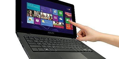 ASUS 11.6-Inch Touchscreen Laptop (Black)