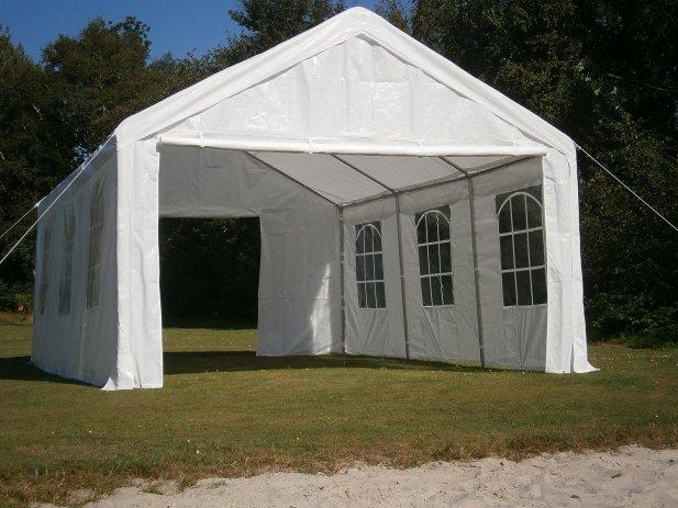 Profi Festzelt 4x6m PE Partyzelt Pavillon Gartenzelt Zelt TOP!!