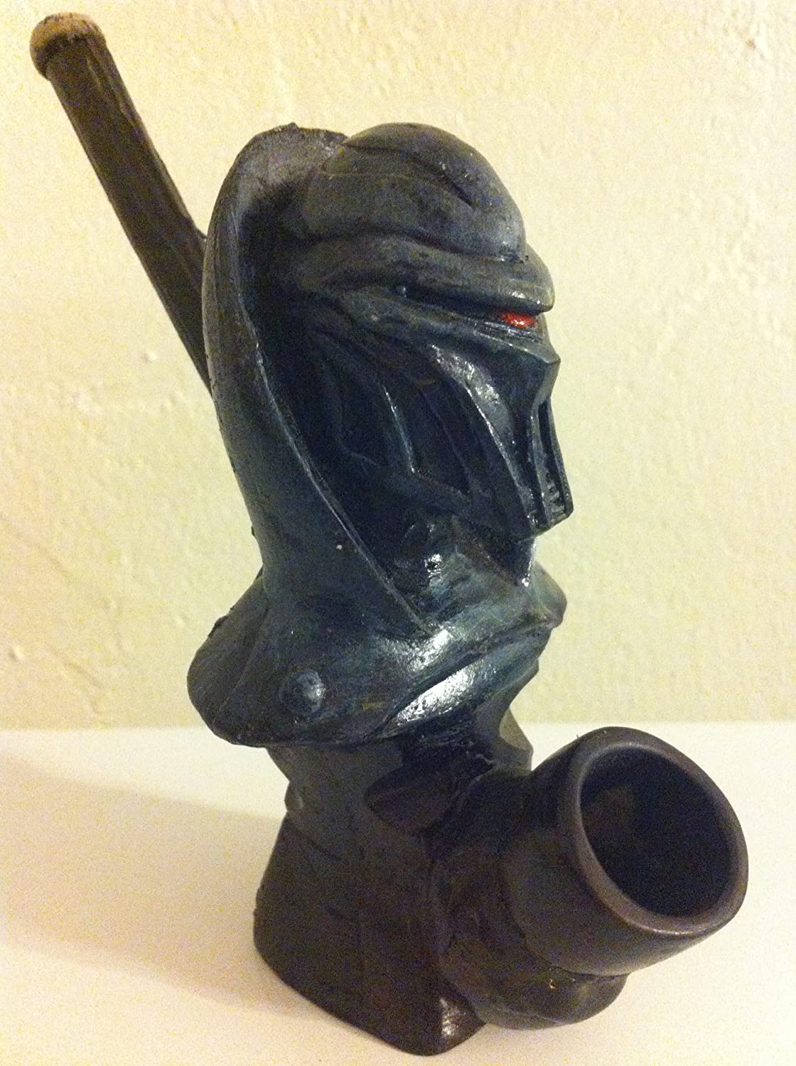 Handmade Tobacco Pipe, Cylons from Battle Star Galatica Design