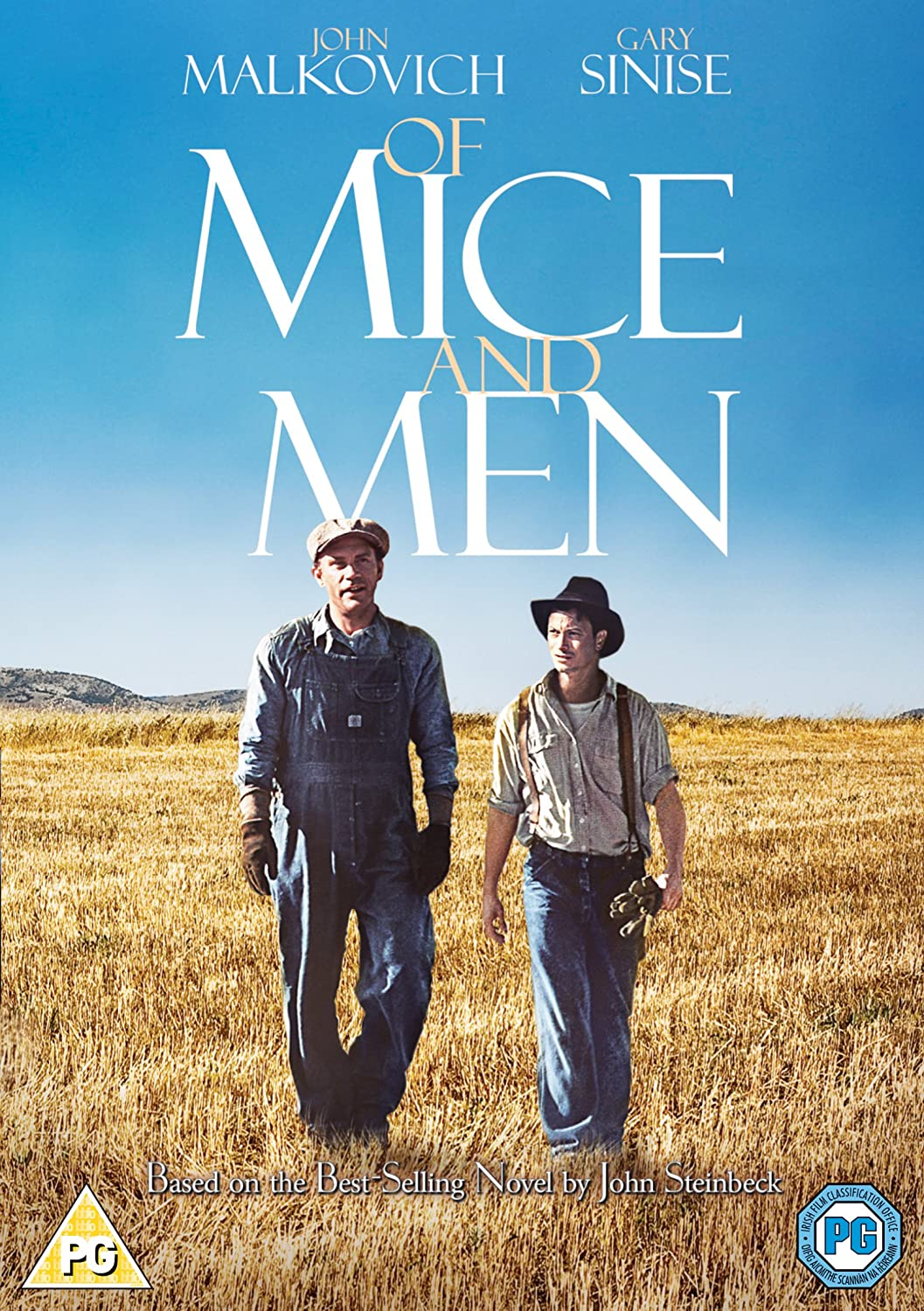 of mice and men movie poster steinbeck