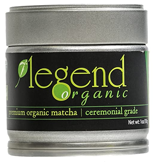 Legend Organic Premium Organic Matcha Green Tea Powder (Usda Organic) Ceremonial Grade - 30g / 1 Ounce