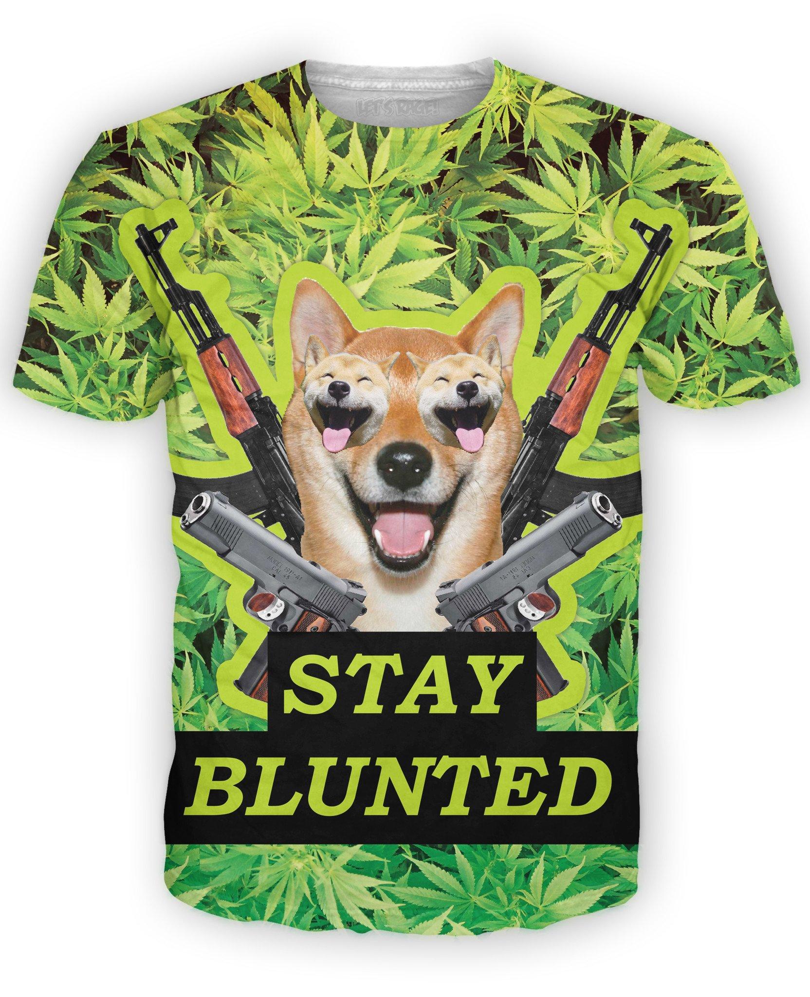 RageOn Men's Stay Blunted T-Shirt
