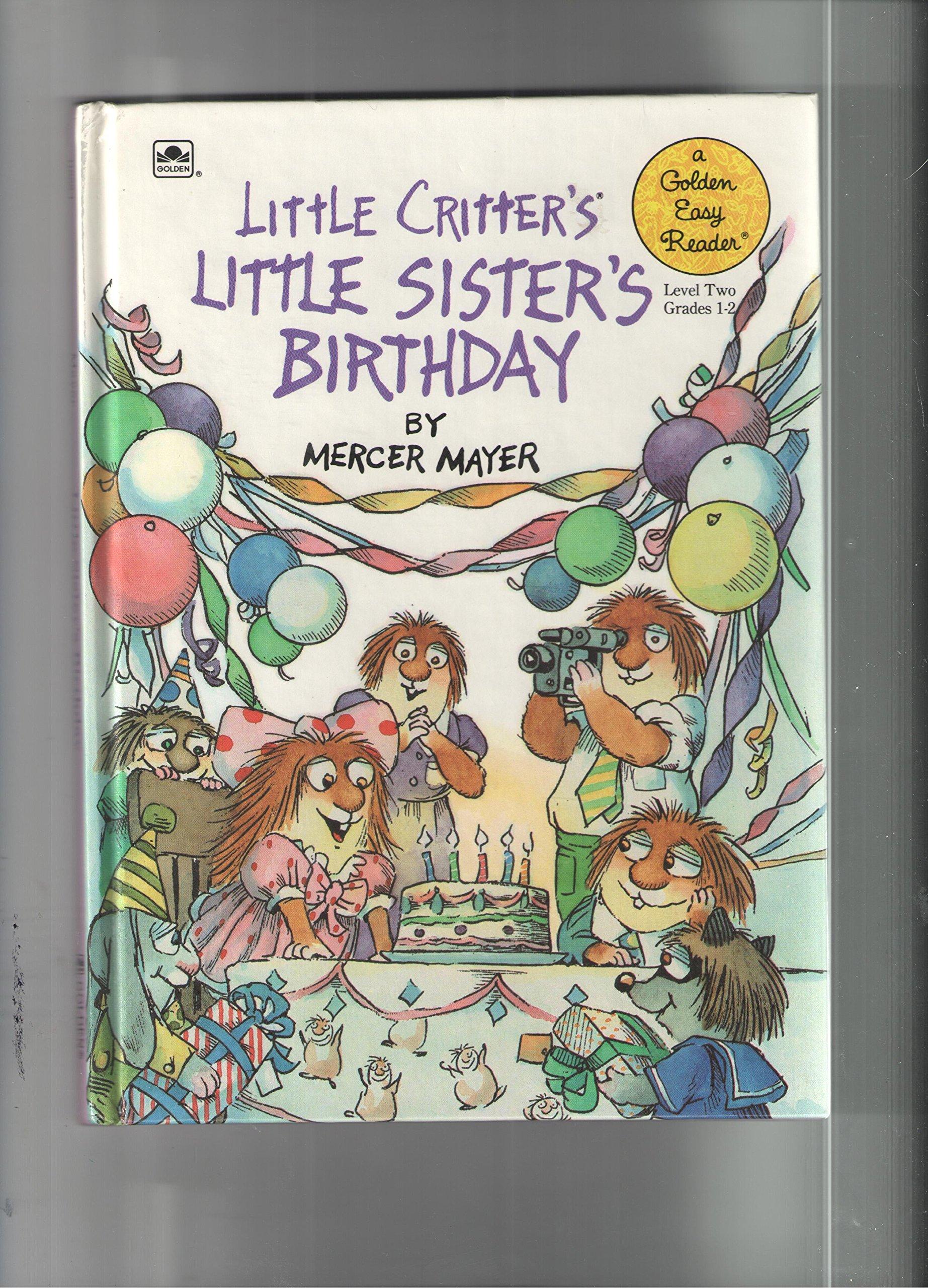 Little Critter S Little Sister S Birthday