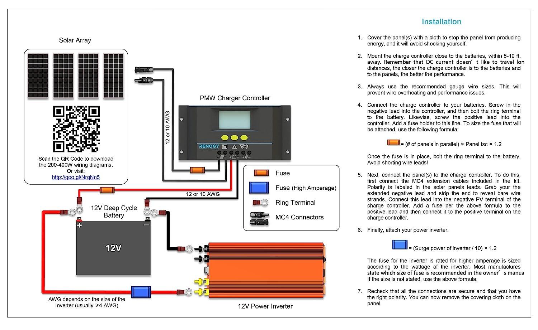 12v Battery Bank Wiring Diagram Trusted Diagrams 12 Volt In Parallel 400 Watt Solar Circuit Symbols U2022 Champion Boat
