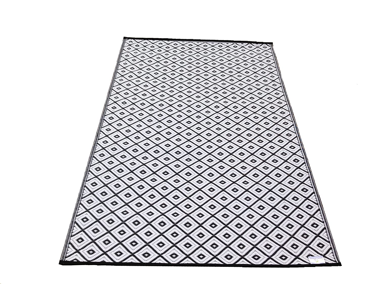 New Large Quality Arabian Outdoor Black And White Plastic