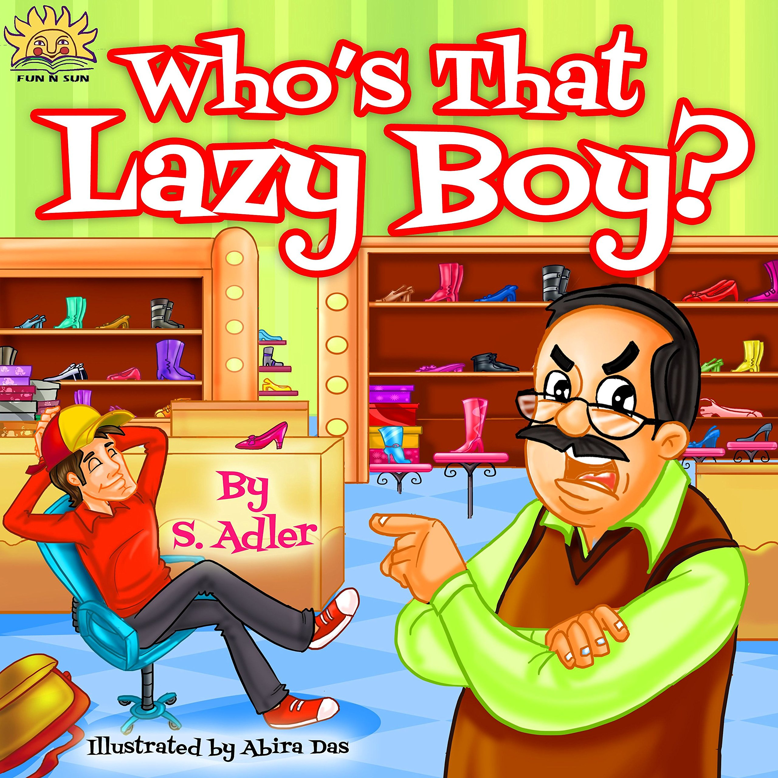 Children S Book Who S That Lazy Boy Bedtime Story