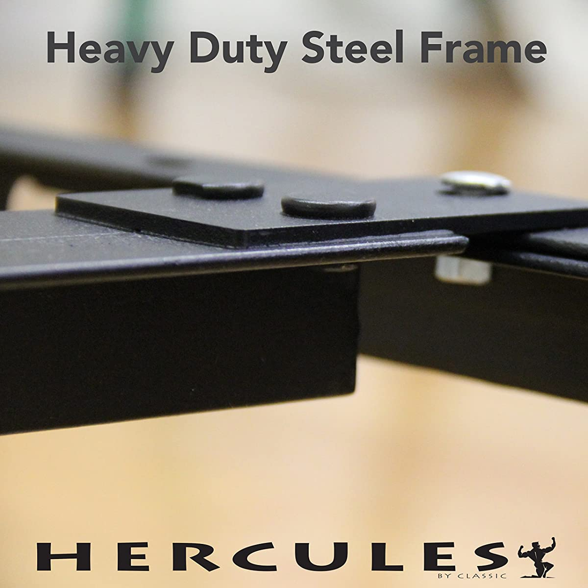 Hercules Universal Heavy Duty Adjustable Metal Bed Frame
