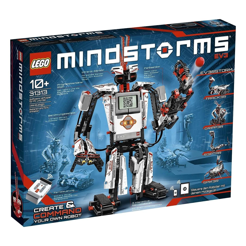 LEGO® MINDSTORMS® Programmable EV3 Customizable Robot w/ Sensors