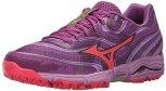 Mizuno Women's Wave Kazan Trail Running Shoe, Purple/Pink, 11 B US