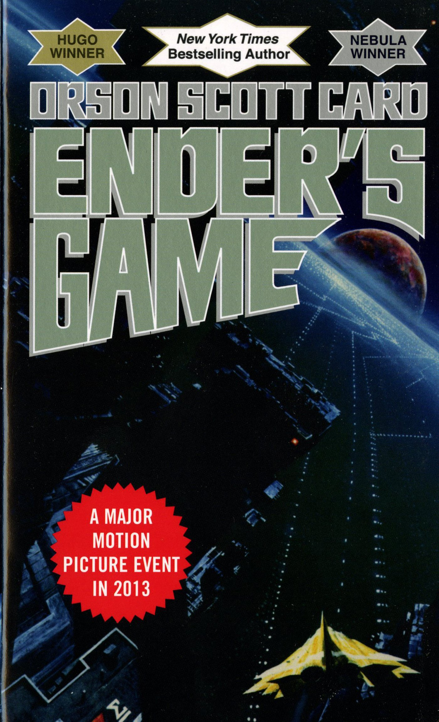 Cover of Ender's Game book by Orson Scott Card