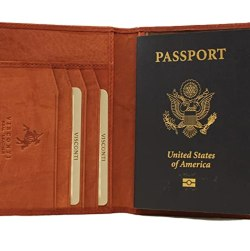 Visconti Soft Leather Passport Cover - POLO 2201