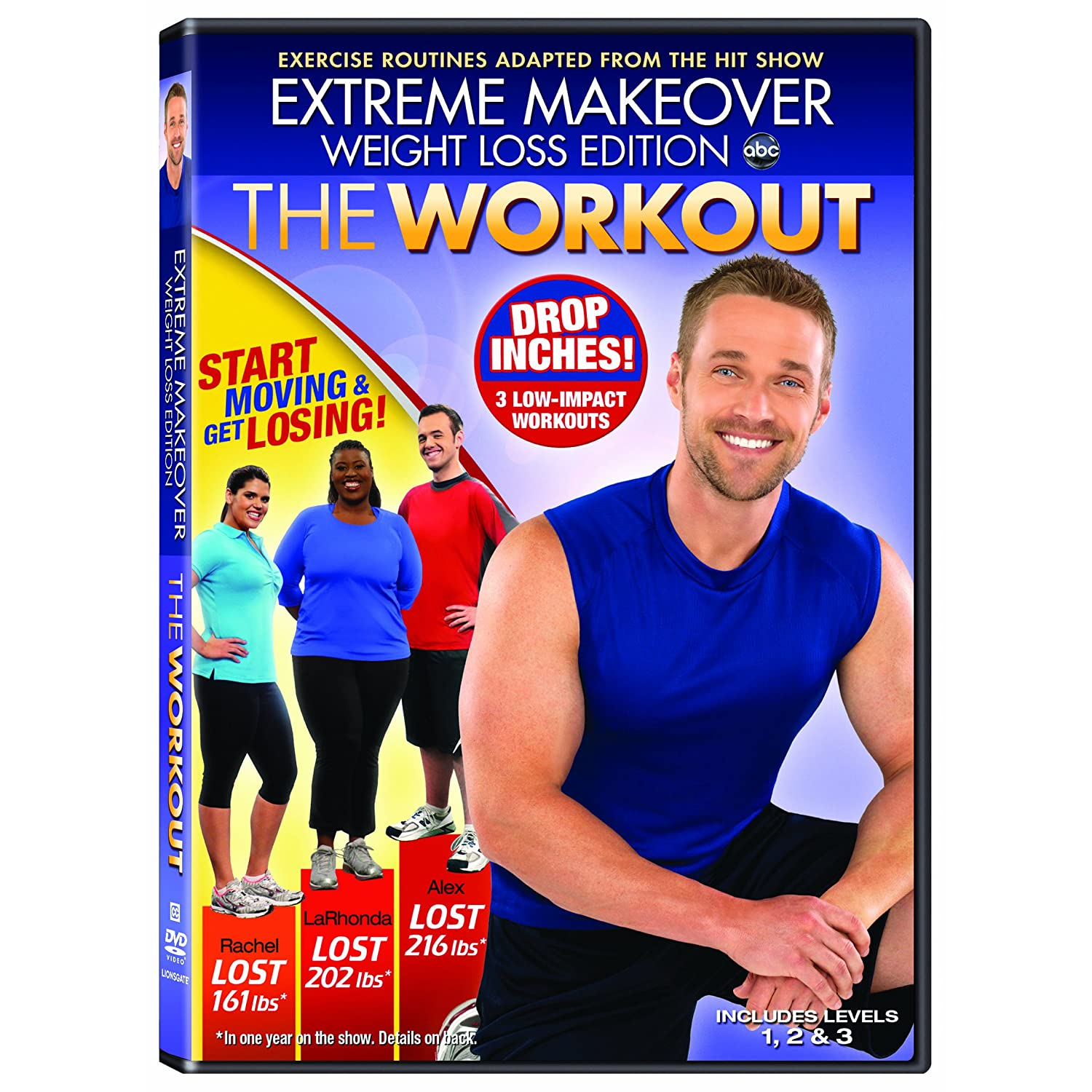 Dance Body Extreme Makeover Weight Loss Edition The Workout