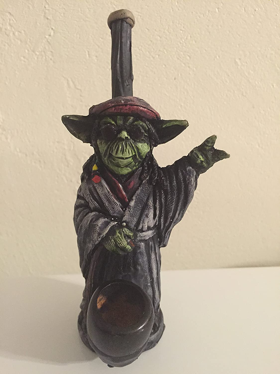 Rasta Force Yoda Star Wars Pipe