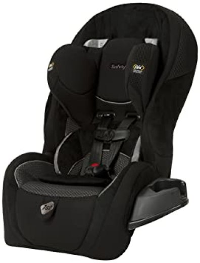 Convertible car seat for air travel
