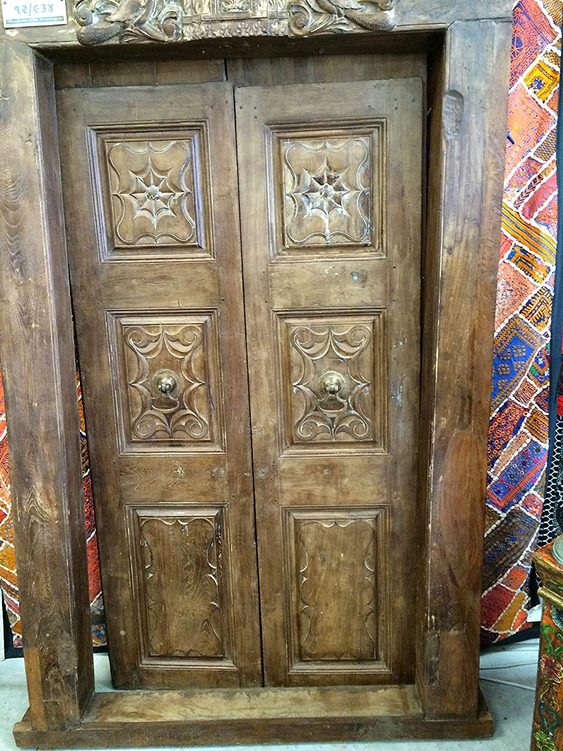 Antique Front Doors Entryways From Around The World Indian Decor India Furniture Indian