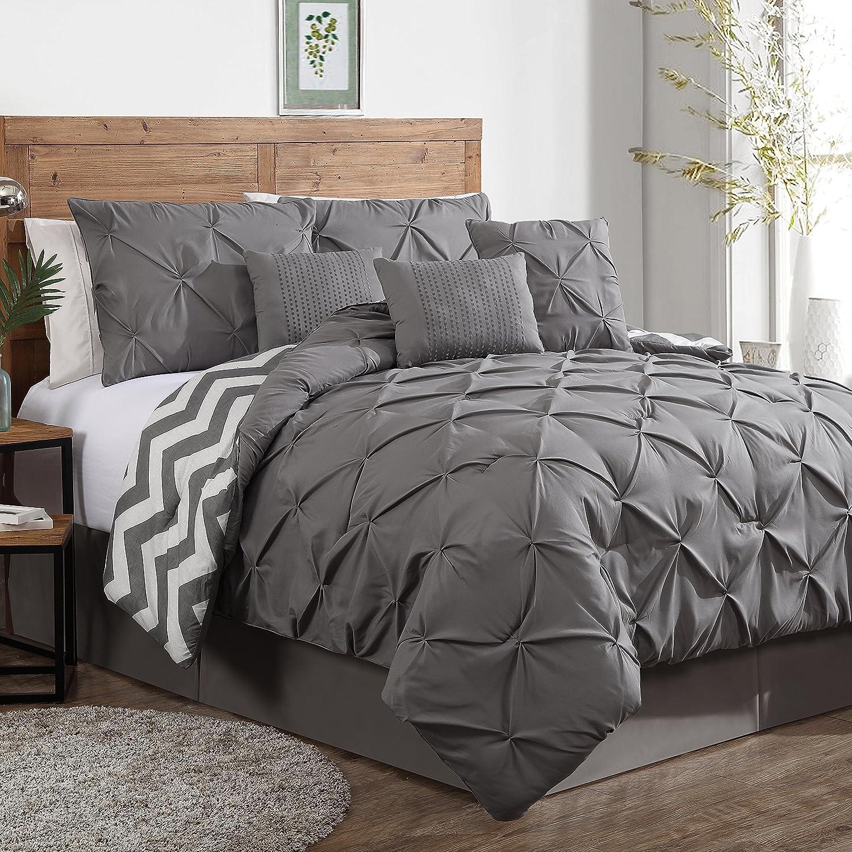 victoria classics sadie 5piece comforter set queen green