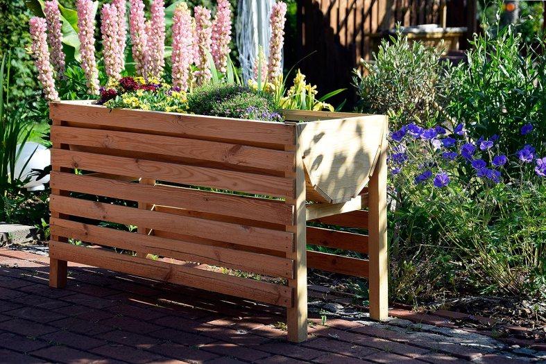 Hochbeet Für Den Balkon-schönheit Entscheidet Gemuse Auf Dem Balkon Hochbeet Garten