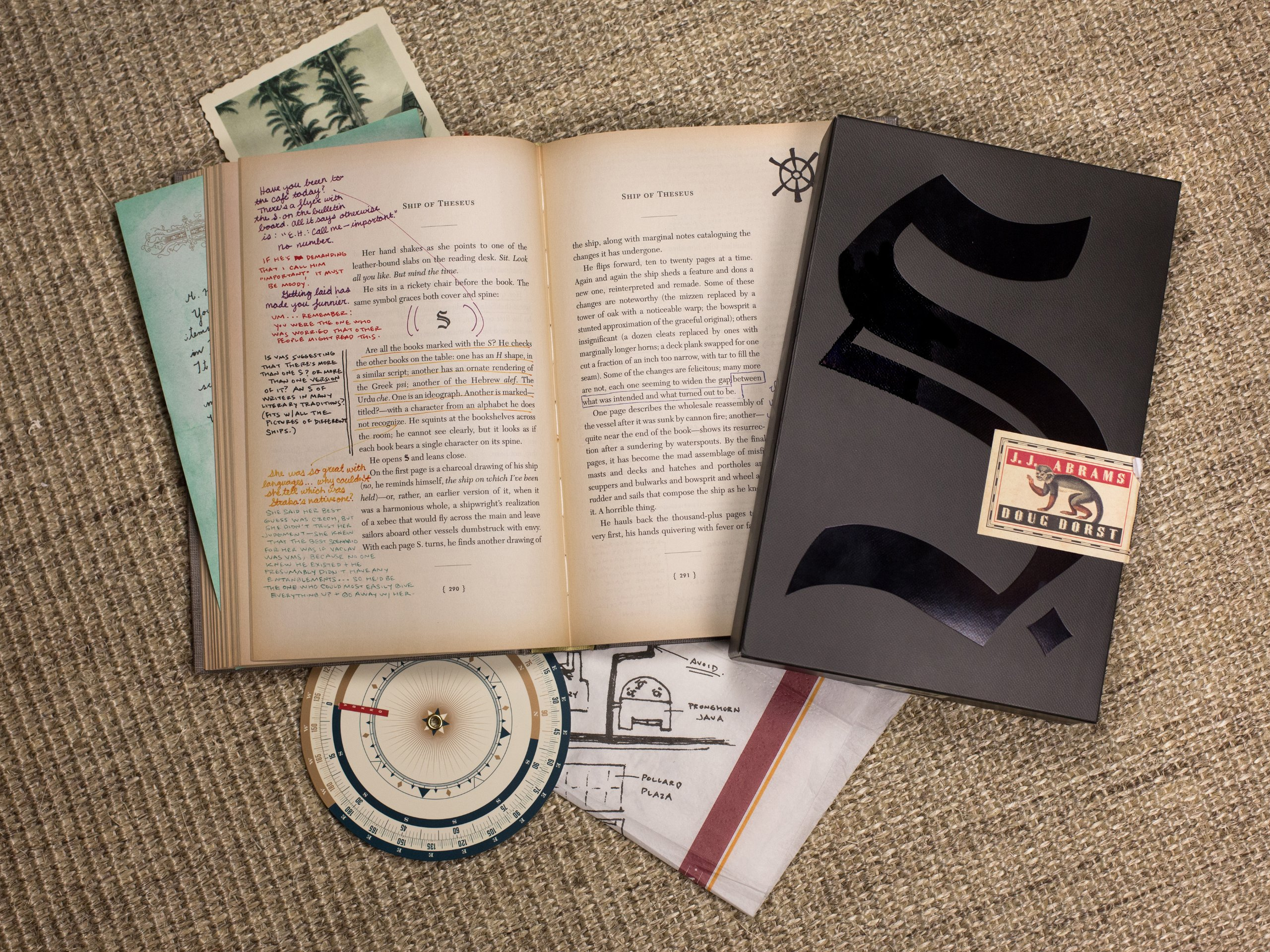 August Book Haul | S. by J. J. Abrams