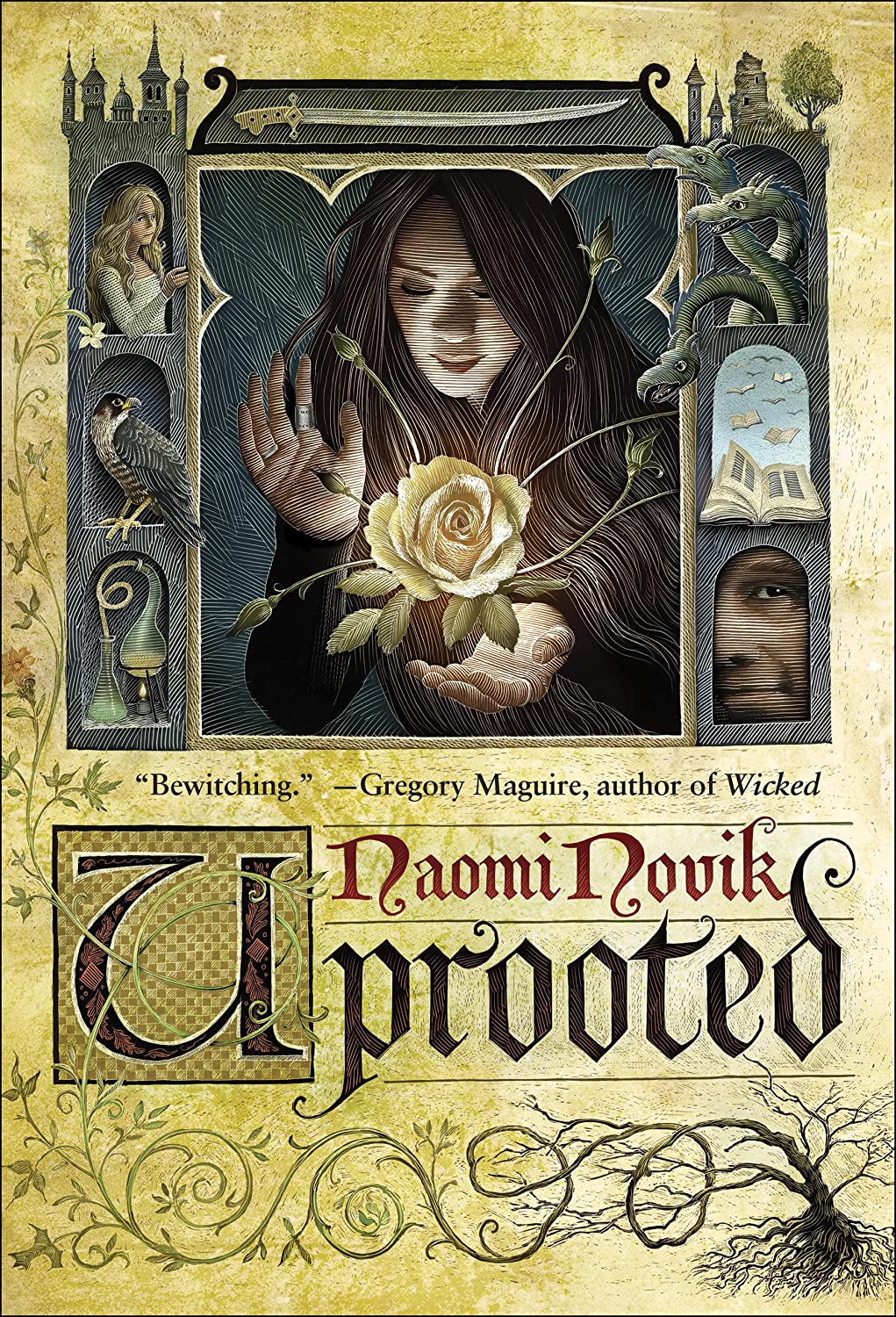 UPROOTED by Naomi Novik (US cover)