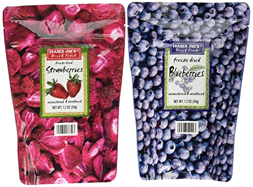 Trader Joes Freeze Dried Fruit Assortment Bundle