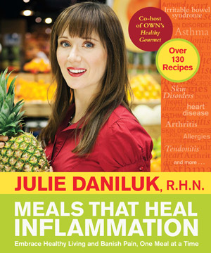 Julie Daniluk Well known nutritionist book meals that heal inflammation