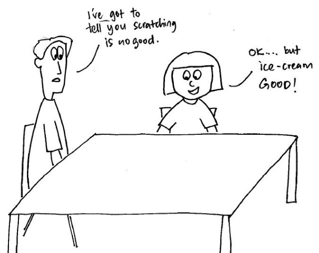 I'm confessing, it's me the guilty parent! Read the previous 2 cartoons if you're lost!
