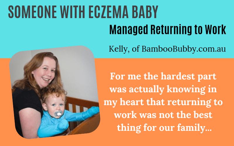 Someone has eczema Kelly BambooBubby Story on EczemaBlues