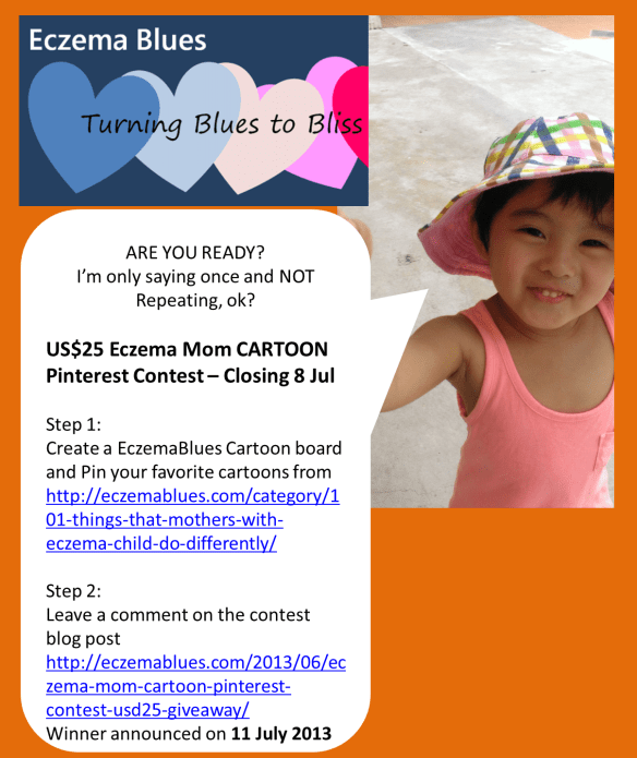 Eczema Blues Pinterest Cartoon Contest