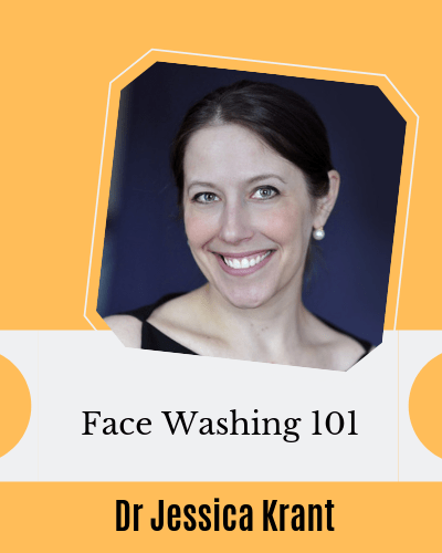 Face washing Dr Jessica Krant AAD video baby sensitive skin