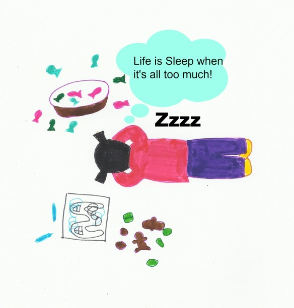 Sleep is needed! for babies, toddlers and moms (and of course, dads too)! eczema or not..