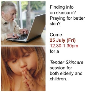 Eczema Support Group - Skincare session for Elderly and Kids