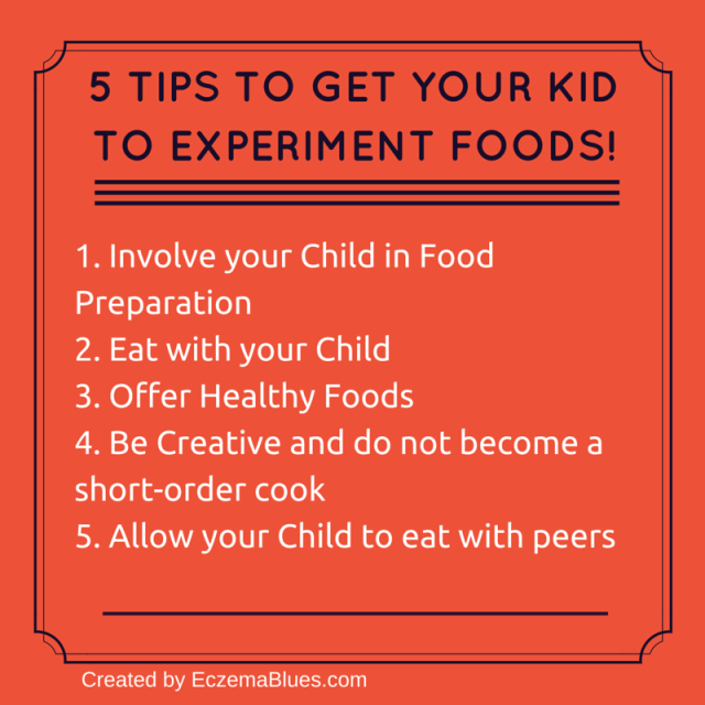5 Tips to Get your kid to experiment