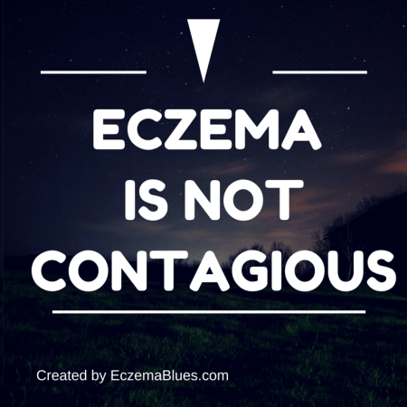 Eczema is not contagious