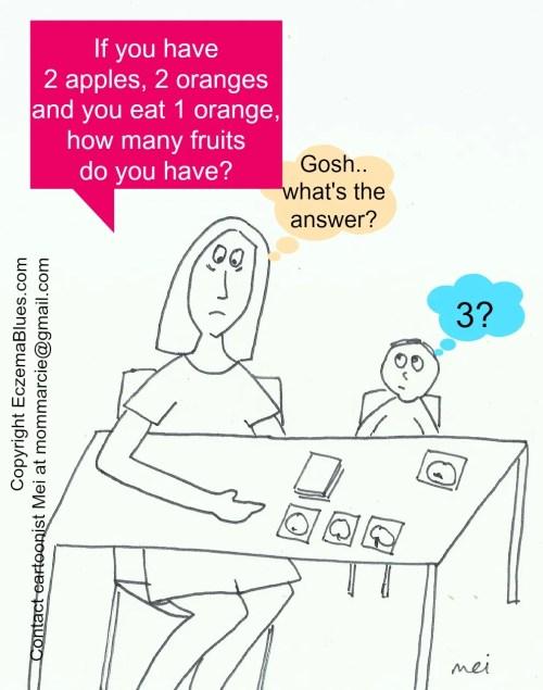 Mom NeedyZz cartoon Sleep Deprivation Makes you Dumb