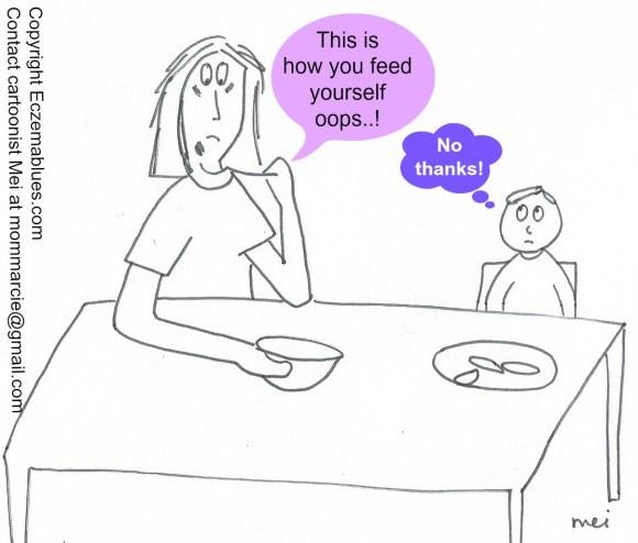 Mom NeedyZz cartoon Sleep Deprivation affects Judgment