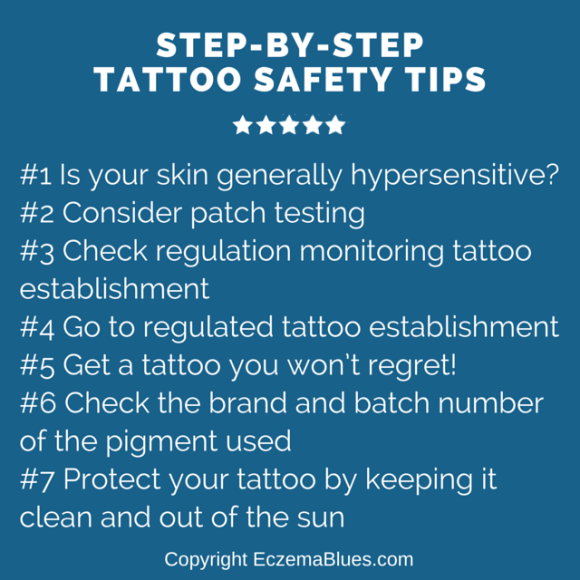 Step-by-step Tattoo Safety Tips