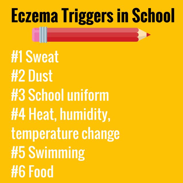 Eczema Triggers in School