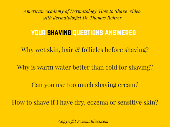 Questions answered by dermatologist Dr Thomas Rohrer on Shaving