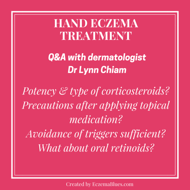 Treatment for Hand Eczema with dermatologist Dr Lynn Chiam