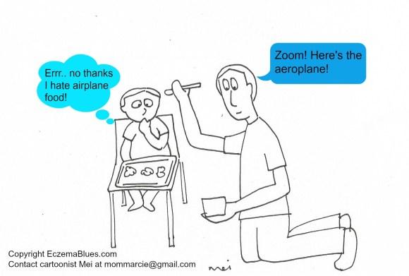 Mom NeedyZz Cartoon Airplane Baby Feeding
