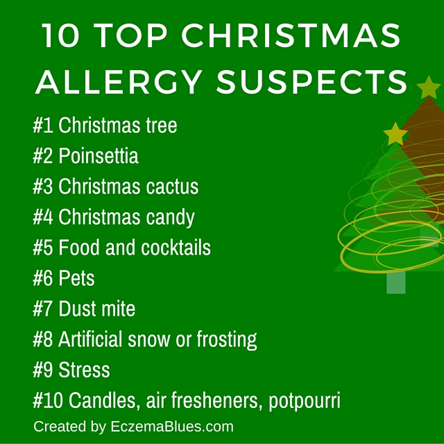 10 Top Christmas Allergy Suspects