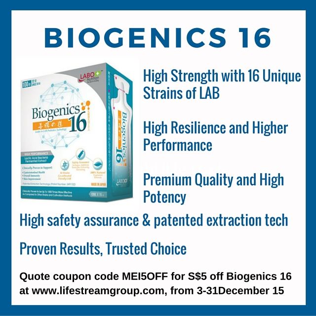 Biogenics Probiotic extract children health
