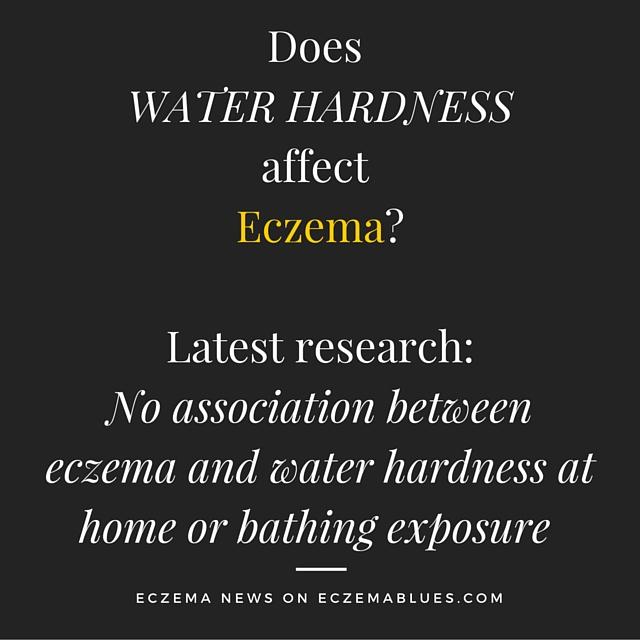 Water Hardness and Eczema