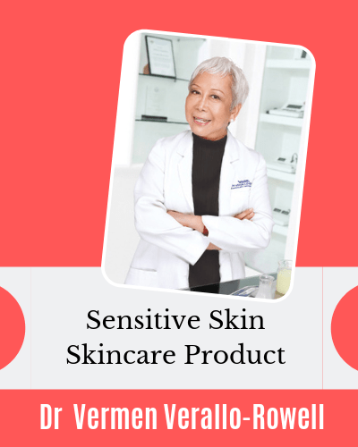 Sensitive Skin Skincare Product Interview series with Dr Vermen Verallo Rowell VMV Hypoallergenics