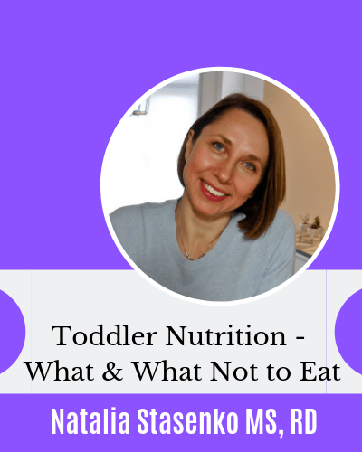 Toddler Nutrition interview with Registered Dietitian Natalia Stasenko Eczema children