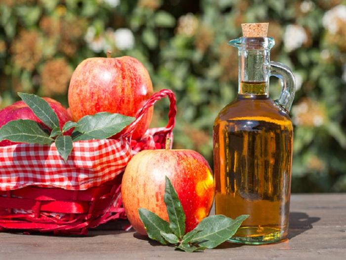 apple cider vinegar seborrheic dermatitis