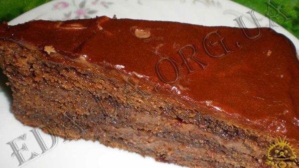 Кулинарный блокнотик для дочери Торты Торт Пражский