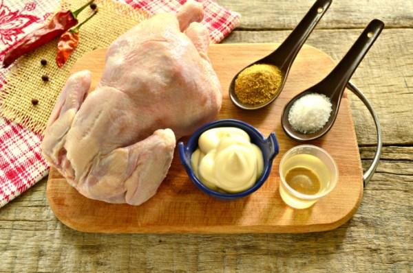 Целый цыпленок запеченный в фольге в духовке - как ...