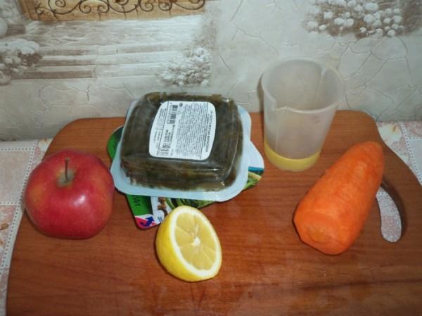 Постный простой салат из морской капусты - как сделать ...