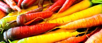 """Морковь- это не только провитамин """"А"""" но и ...."""